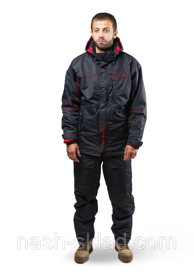 Демисезонный костюм WINDMAX SKADI удобный, функциональный, надежный, практичный костюм (красный)
