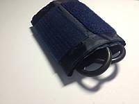 Манжет нейлоновый с кольцом и камерой 2-х трубочной импортный для тонометров. Обхват 24-36 см. Размер 51*14см, фото 1