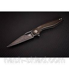 Нож складной MALWARE с футуристичной рукоятью из титанового сплава, фото 2