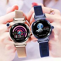 Смарт часы Женские Lemfo H2 smart watch фитнес браслет трекер