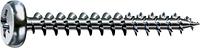 Саморез SPAX с покр. WIROX 3,0х25, полная резьба, полукр. гол., PZ1, S point, упак. 1000 шт., пр-во Германия