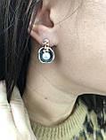Комплект серебряных украшений Лантана от Ирида-В, фото 4