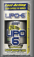Nutrex Lipo-6  Maximum Strength 120 Liqui-caps