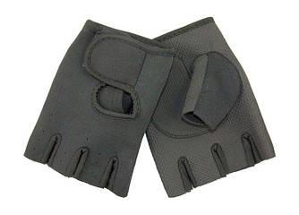 Перчатки велосипедные без пальцев на липучке, XL