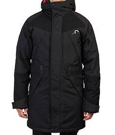 Мужская зимняя термокуртка с капюшоном