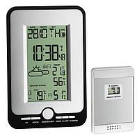 Цифровая метеостанция для дома с беспроводным датчиком TFA Multy Black