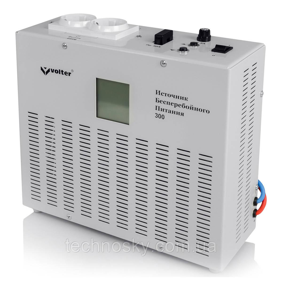 Источник бесперебойного питания тм Volter ИБП-300 (300Вт, 12В)