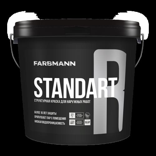 Фасадна структурна фарба Farbmann Standart R 9л