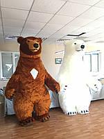 Надувной костюм медведя