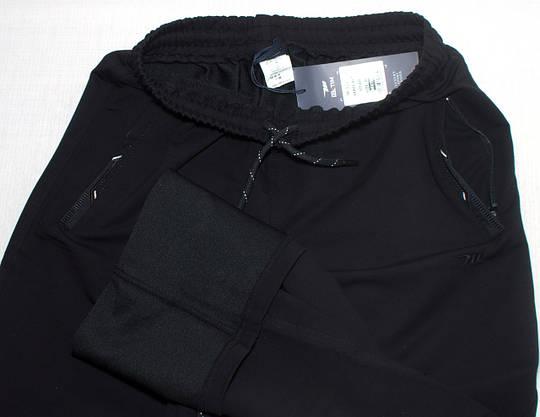 Чоловічі спортивні штани чорні  Mxtim (М-3XL), фото 2