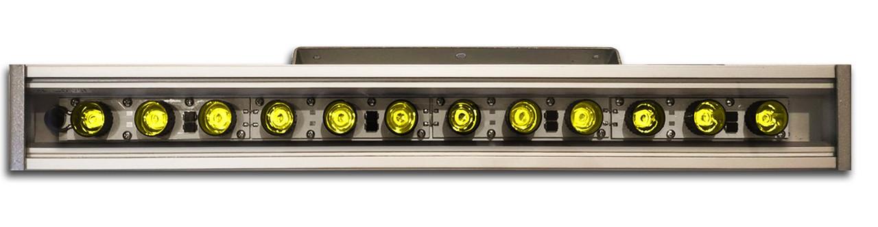 Линейный светильник 36W  530мм IP67 Wall washer желтый