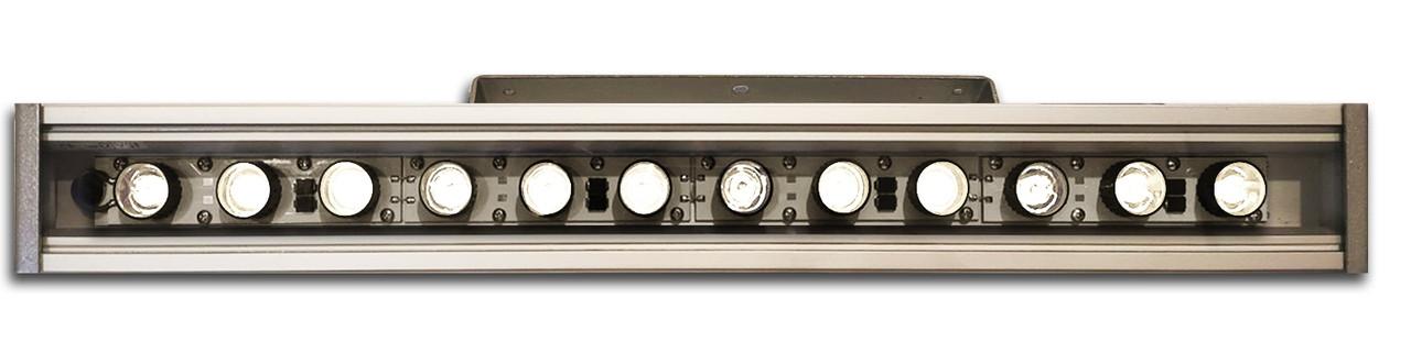 Линейный светильник 36W  530мм IP67 Wall washer холодный белый