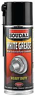 Смазка литиевая 400мл White Grease SOUDAL