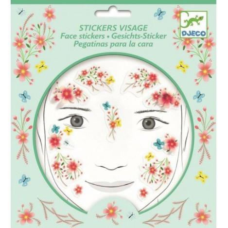 Набір наклейок для обличчя весняна казка djeco (DJ09212)