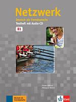 Тетрадь для тестов Netzwerk B1 Testheft ISBN 9783126051460