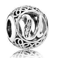 Серебряный шарм Pandora