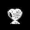 Серебряный шарм Pandora 791967