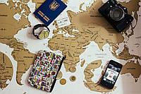 Scratch map White настенная карта мира на английском языке