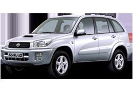 Килимок в багажник для Toyota (Тойота) RAV4 2 2000-2005