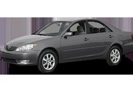 Килимок в багажник для Toyota (Тойота) Camry 2002-2006 XV30