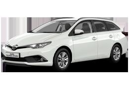 Килимок в багажник для Toyota (Тойота) Auris 2 (E180) 2012+