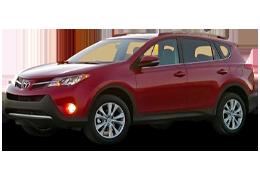 Килимок в багажник для Toyota (Тойота) RAV4 4 2013-2018