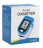 Пульсоксиметр Fingertip Pulse Oximeter | Пульсометр на палец, фото 9