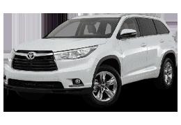 Килимок в багажник для Toyota (Тойота) Highlander 3 2013+
