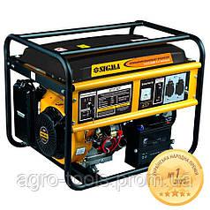 Генератор газ/бензин 5.0/5.5кВт 4-х тактный электрозапуск SIGMA (5711321)