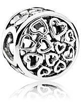 Серебряный шарм Pandora, фото 1