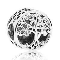 """Серебряный шарм Pandora """"Фамильное дерево"""" 797590, фото 1"""