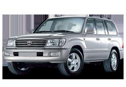 Килимок в багажник для Toyota (Тойота) Land Cruiser 100 1998-08