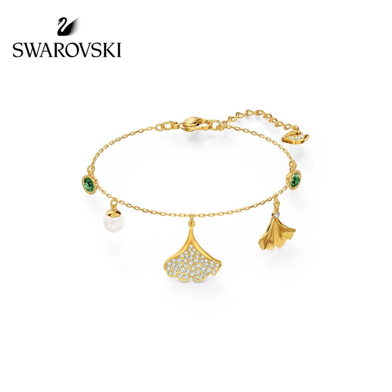 Серебряный браслет Swarovski INFINITY 5518871