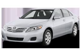 Килимок в багажник для Toyota (Тойота) Camry XV40 2006-2011