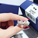 Серебряные серьги Swarovski Iconic Swan 5215037, фото 3