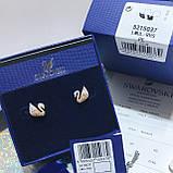 Серебряные серьги Swarovski Iconic Swan 5215037, фото 5