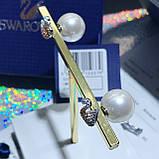 Серебряные серьги Swarovski Iconic Swan 5215037, фото 6