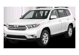 Килимок в багажник для Toyota (Тойота) Highlander 2 2007-2013