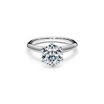 Срібне кільце Engagement Tiffany & Co