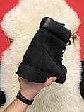 Ботинки Timberland Black осень-зима, осенние ботинки тимберленд осінні черевики тімберленд зимние Timberland, фото 7