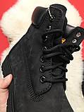 Ботинки Timberland Black осень-зима, осенние ботинки тимберленд осінні черевики тімберленд зимние Timberland, фото 4