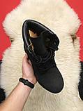 Ботинки Timberland Black осень-зима, осенние ботинки тимберленд осінні черевики тімберленд зимние Timberland, фото 2
