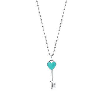 Срібна підвіска Heart Key Pendant Tiffany & Co