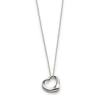 Срібна підвіска Elsa Peretti™ Open Heart Tiffany & Co
