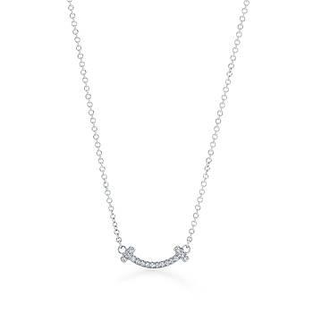 Срібна підвіска T Smile mini Tiffany & Co