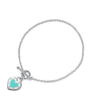 Срібний браслет Love Heart Tag Tiffany & Co