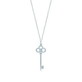 Срібна підвіска Crown Key Tiffany & Co