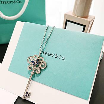 Срібна підвіска-ключ Tiffany & Co