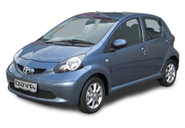 Килимок в багажник для Toyota (Тойота) Aygo 1 (AB10) 2005-2014