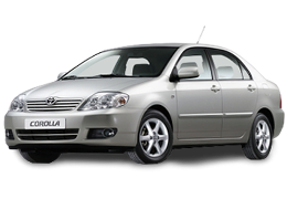 Килимок в багажник для Toyota (Тойота) Corolla 9 2000-2007